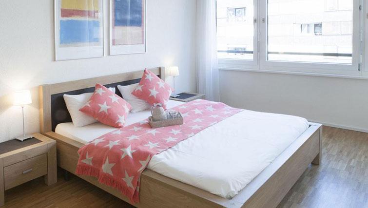 Bedroom at Erlenmattstrasse 12 Apartments