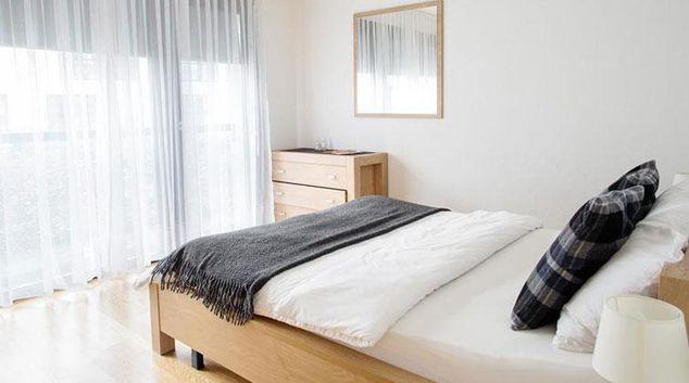 Bedroom at Volta Complex Apartment