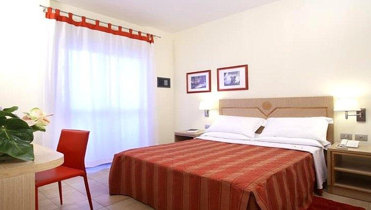 Modern bedroom in Residence I Triangoli