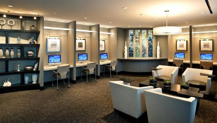 Business centre at Meridian at Pentagon City