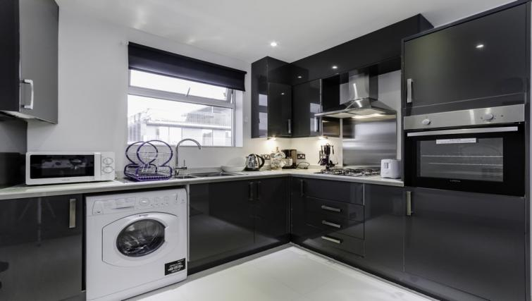 Kitchen area at Citygate Apartments