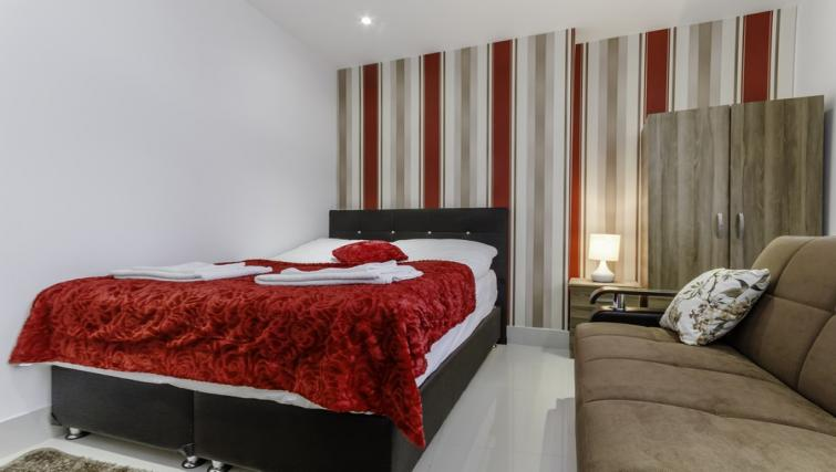Bed at Citygate Apartments
