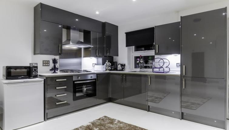 Kitchen space at Citygate Apartments