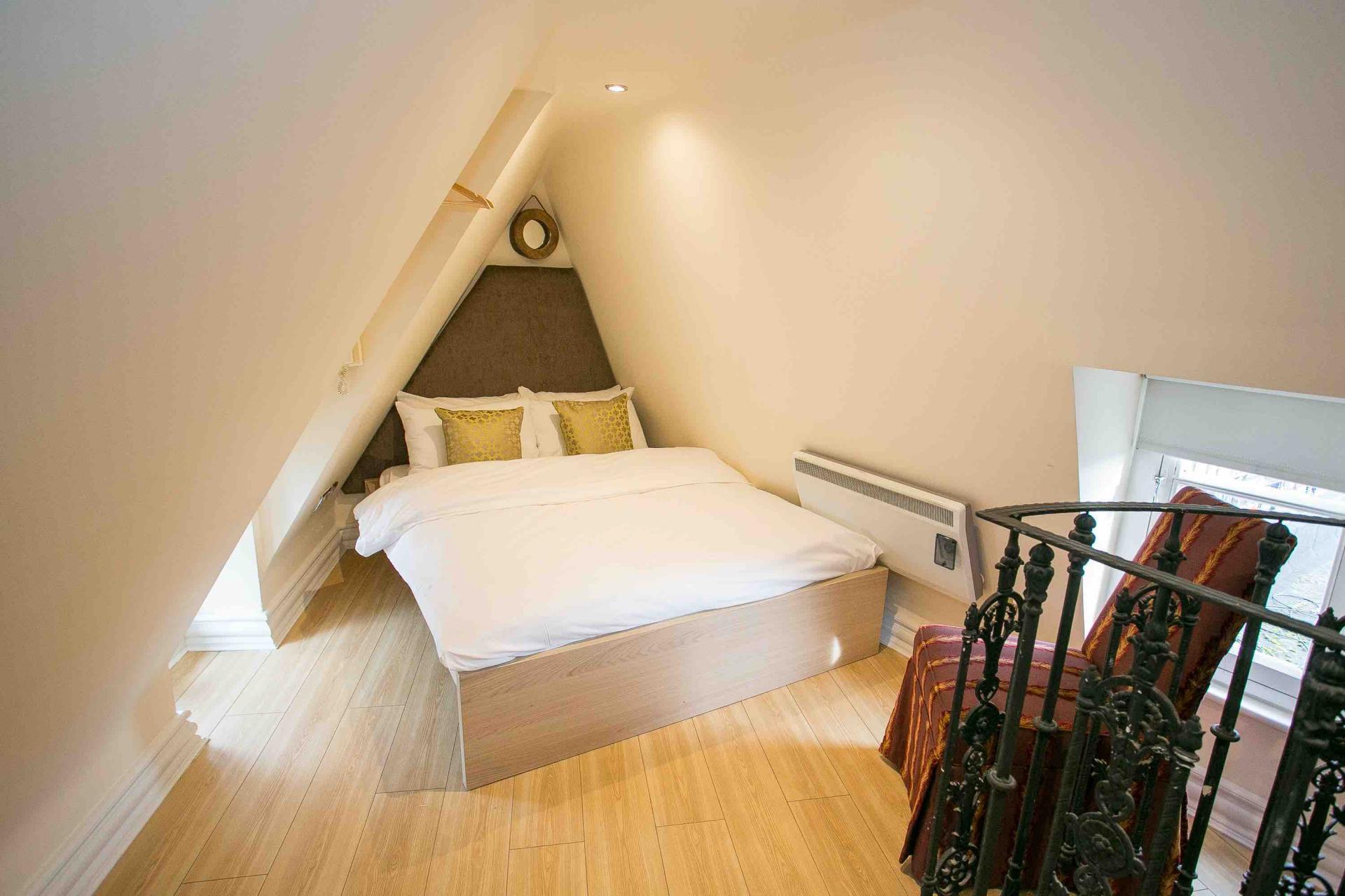Bedroom at O'Connell Bridge Apartments, Centre, Dublin