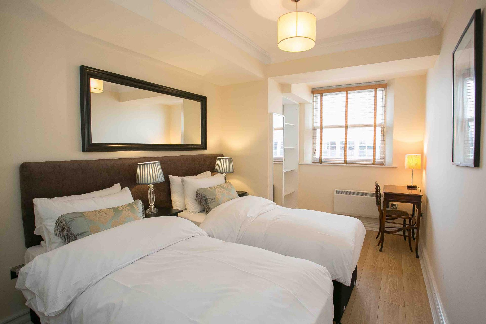 Two beds at O'Connell Bridge Apartments, Centre, Dublin
