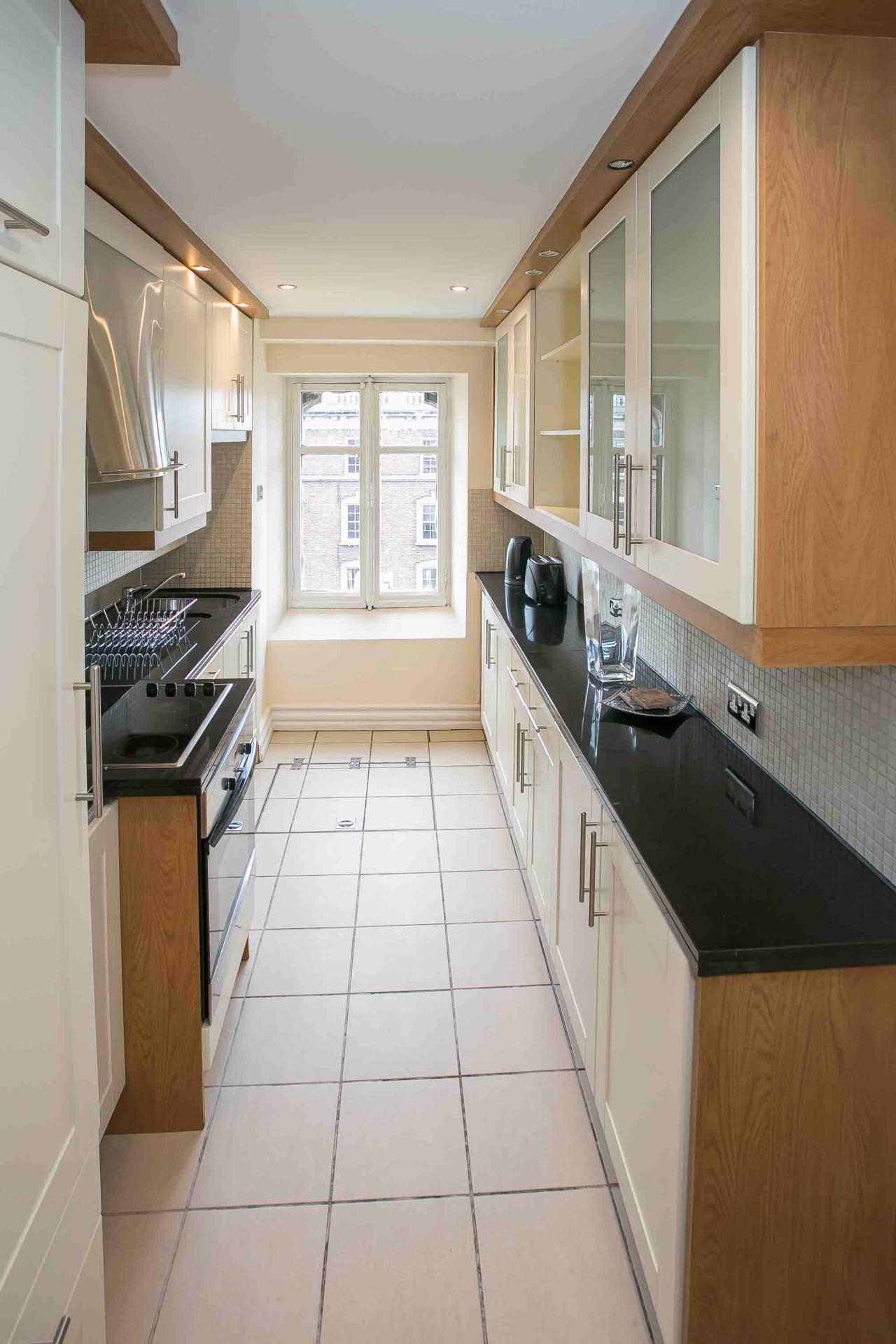 Kitchen at O'Connell Bridge Apartments, Centre, Dublin