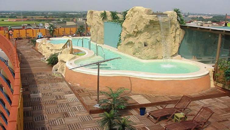 Pool area at Ripamonti Residence