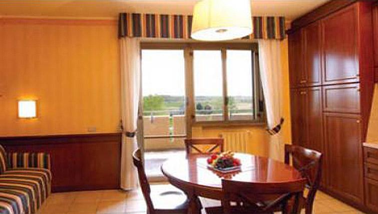 Living area in Ripamonti Residence