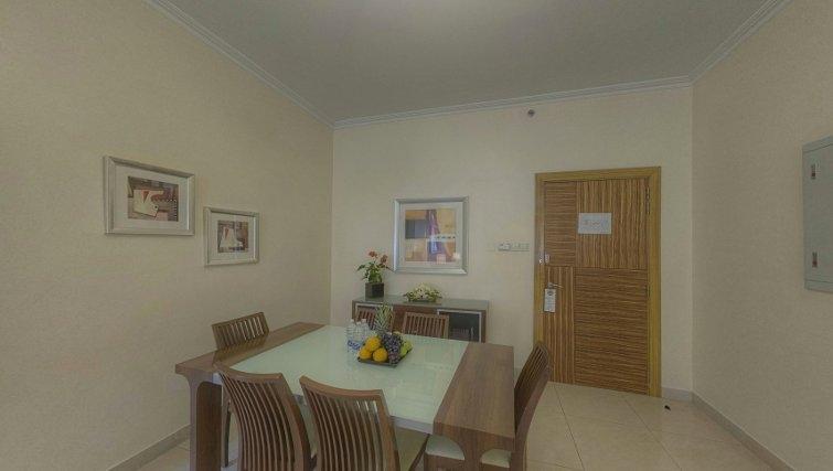 Dining area at Al Barsha Aparthotel