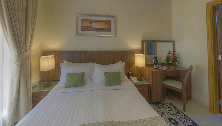 Cosy bedroom at Al Barsha Aparthotel