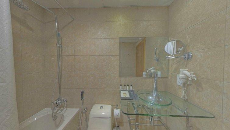 bathroom at Al Barsha Aparthotel