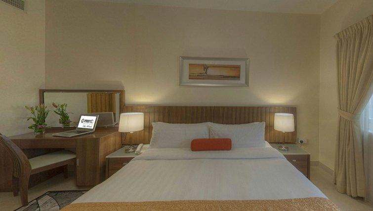 Large double bedroom at Al Barsha Aparthotel