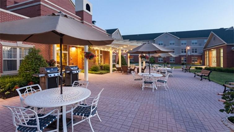 BBQ area at Homewood Suites Harrisburg EastHershey