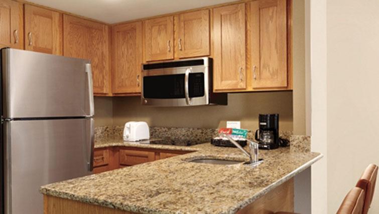 Kitchenette at Homewood Suites Harrisburg-West Hershey