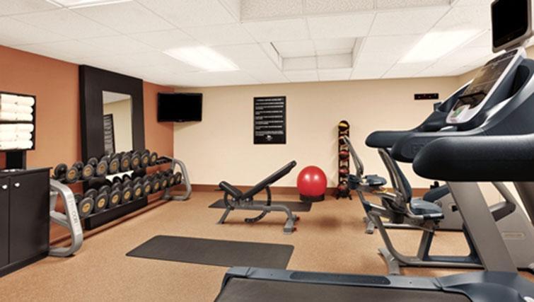 Gym at Homewood Suites Harrisburg-West Hershey