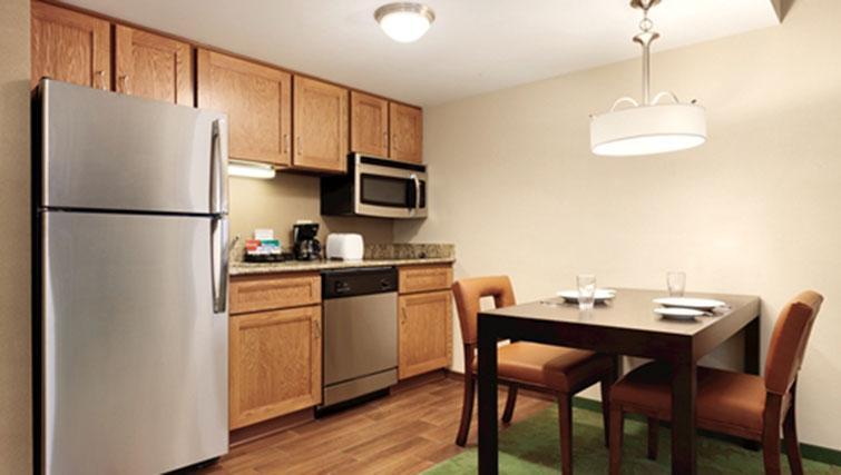 Kitchen at Homewood Suites Harrisburg-West Hershey
