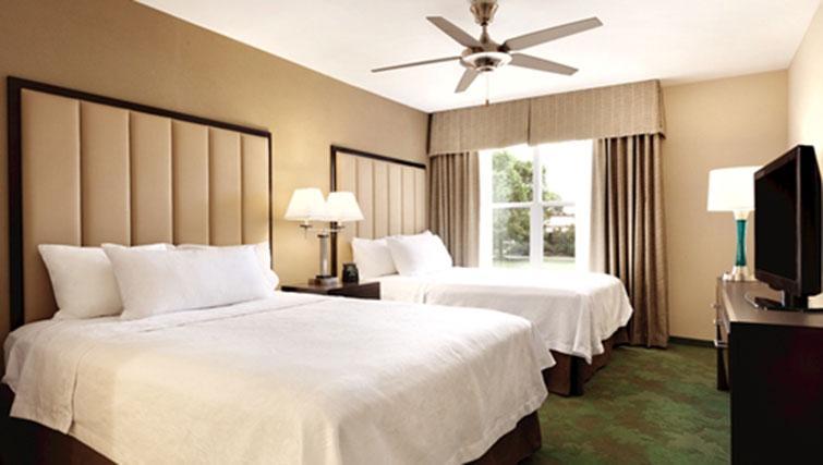 x2 beds at Homewood Suites Harrisburg-West Hershey