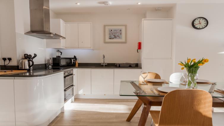 Modern kitchen at Bury Fields House Apartments