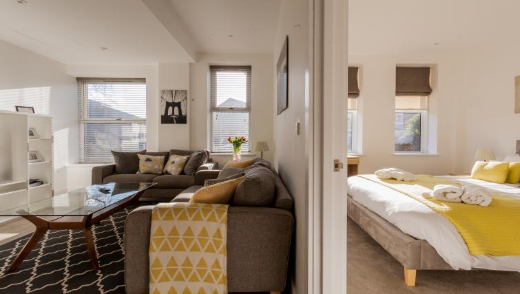 Sofas at Bury Fields House Apartments