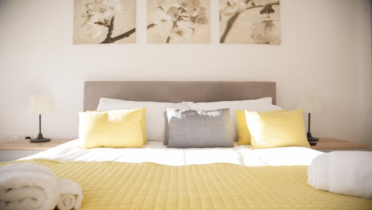 Bedroom at Bury Fields House Apartments
