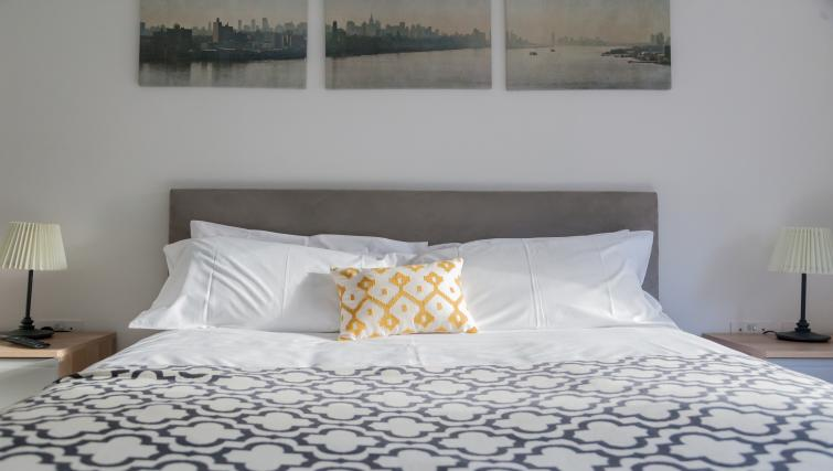 Bed at Bury Fields House Apartments