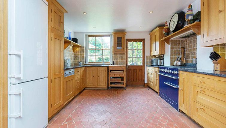 Modern kitchen at Englefield Road House