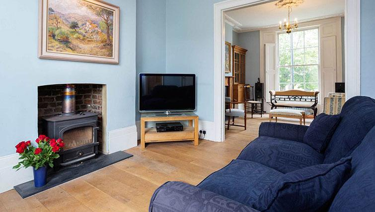 Living room at Englefield Road House