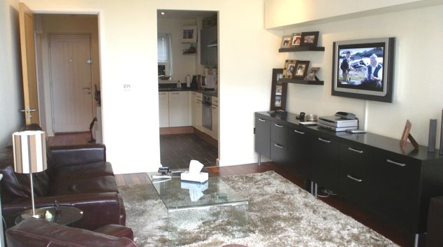 Lounge at The Poolbeg Apartment