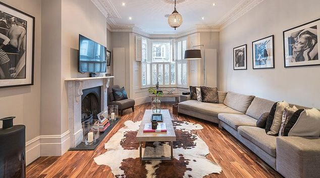 Living area at Roderick Road Apartment