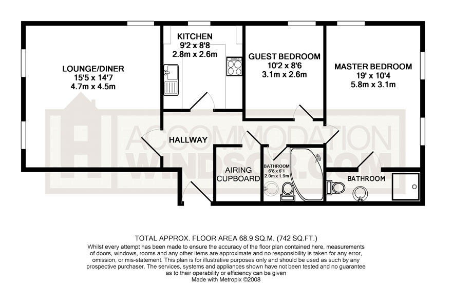 Floorplan 2 at Camperdown House