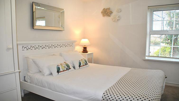 Double bedroom at Camperdown House