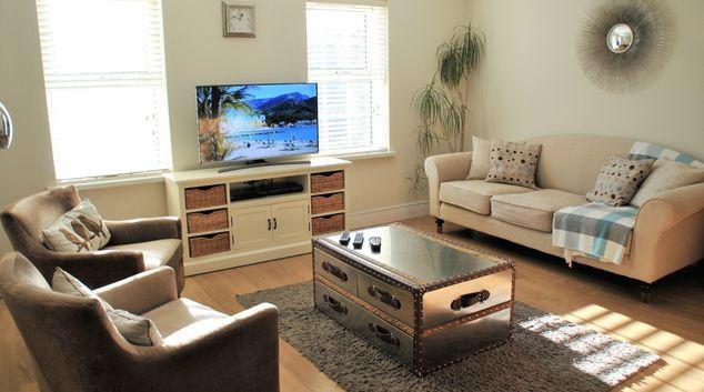 Living room at Camperdown House