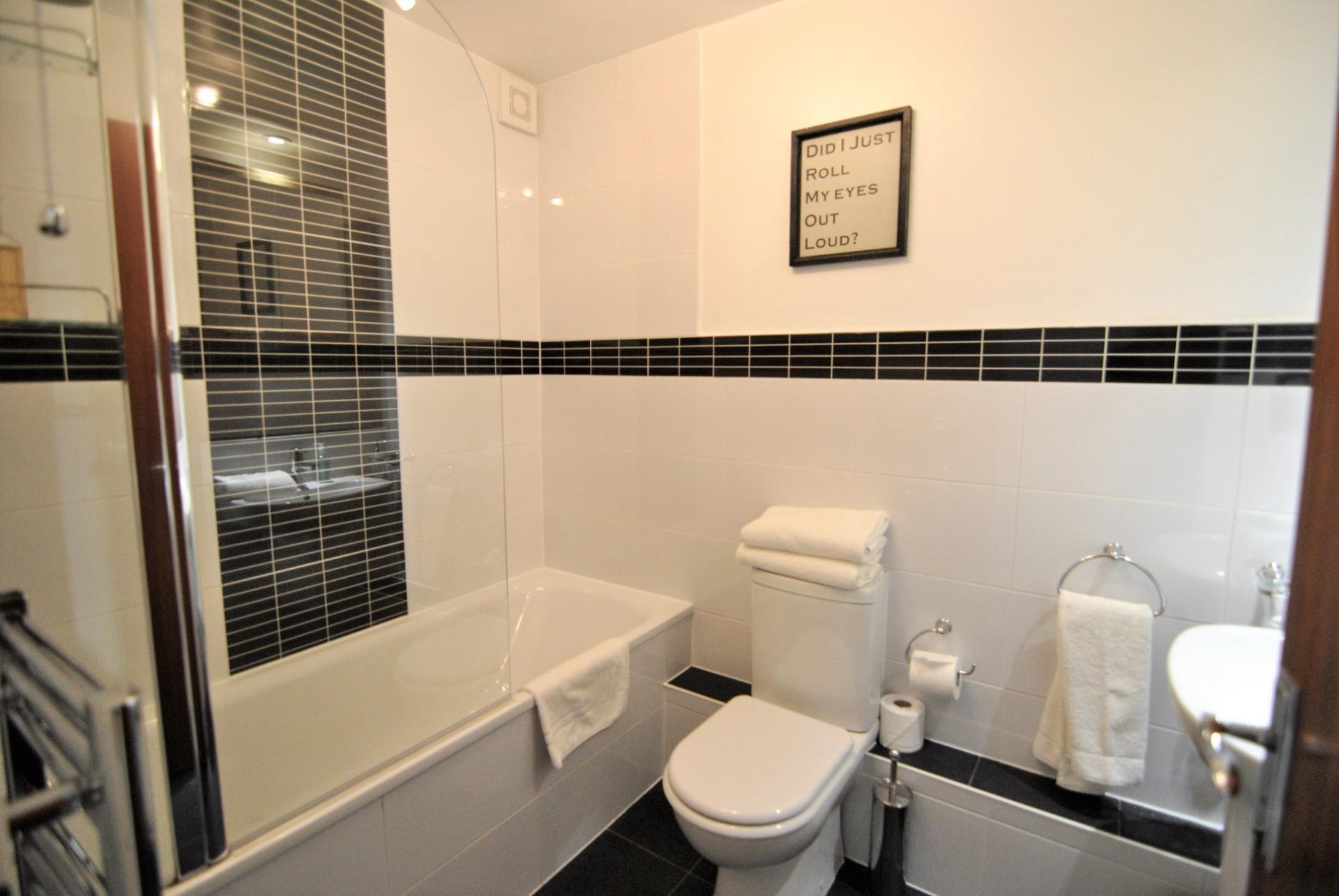 Bathroom at Camperdown House