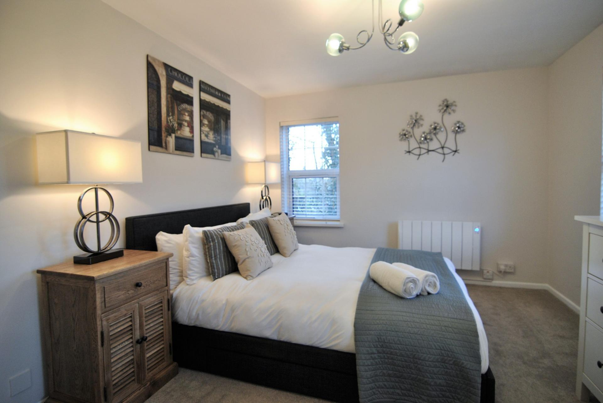 Bedroom at Camperdown House
