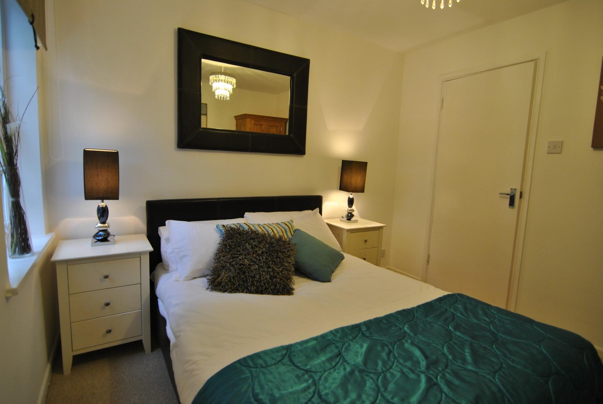 Cosy bedroom at Camperdown House