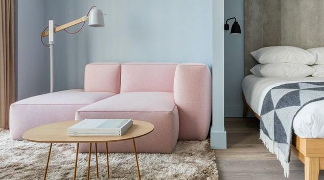 Living area at SACO Leman Locke - Aldgate