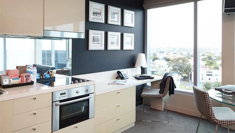 Work desk at Mantra Bell City