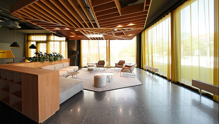 Lobby at Munich Parkstadt Schwabing Apartments