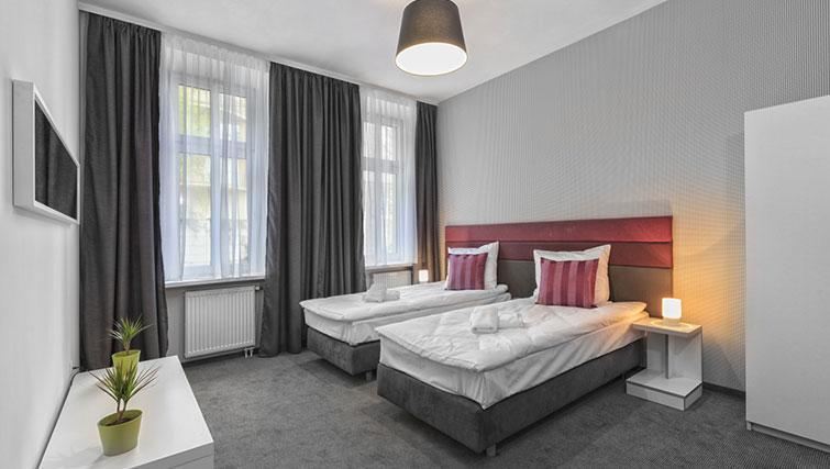 Bedroom at City Residence Łodź