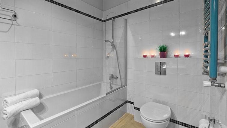 Bathroom at City Residence Łodź