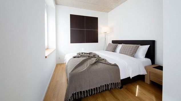 Double bedroom at Kanzleistrasse Apartments