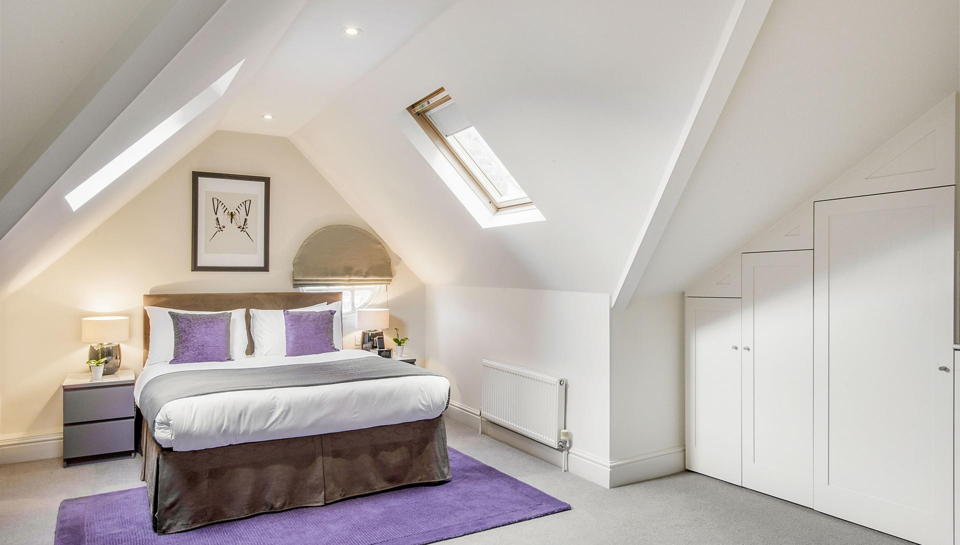 Bedroom at Draycott Apartments