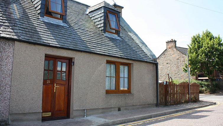 Exterior of Fairfield Lane Cottage