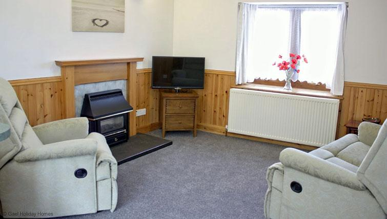 Living area at Fairfield Lane Cottage