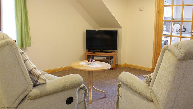 Living area at Innes Street Apartment