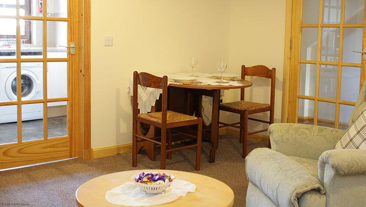 Dining area at Innes Street Apartment