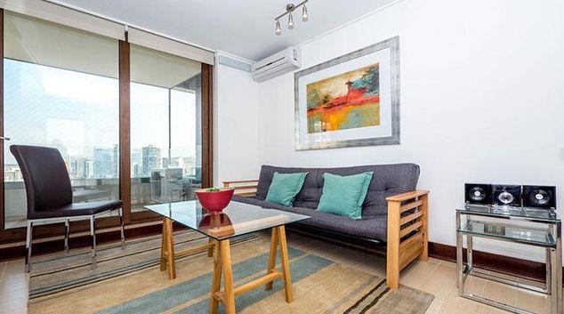 Living area at as Malvas Apartment