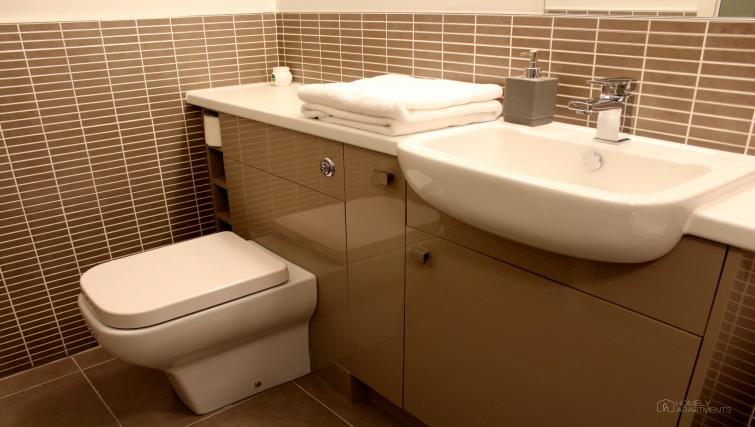 Bathroom at Figtree Apartments