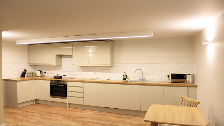 Kitchen at Figtree Apartments