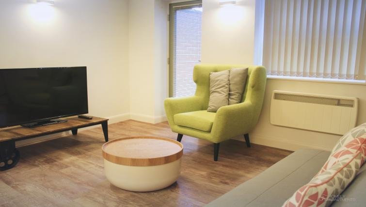 Living space at Figtree Apartments